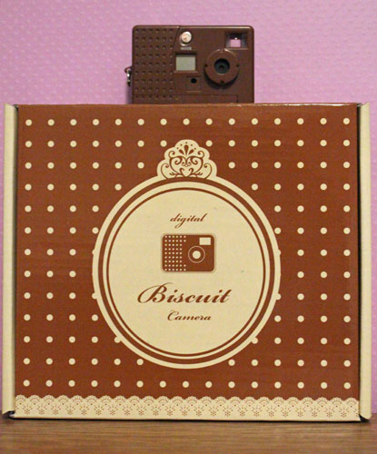Chocolate Biscuit Camera