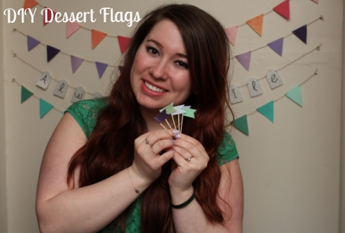 DIY Dessert Flags image