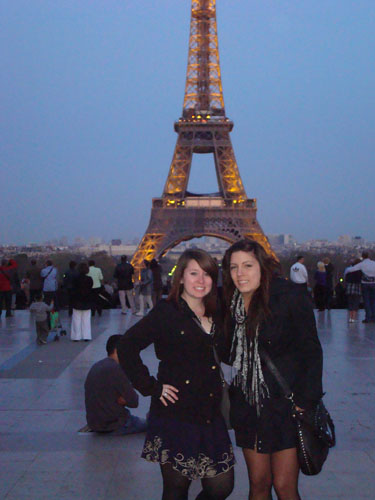 Steph and Hil Paris