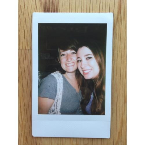 Sarah and I Instax
