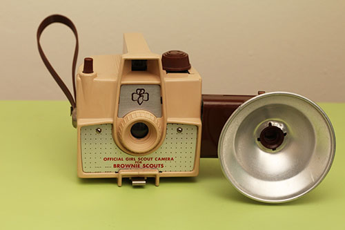 Brownie Scouts camera