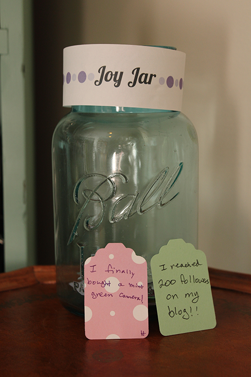 Joy Jar paper