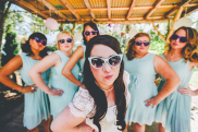 We got a bit sassy with our bridal party photo! Big shout out to Becky, Meagan, Jessica, Amber, and Nicole for all of your help!!