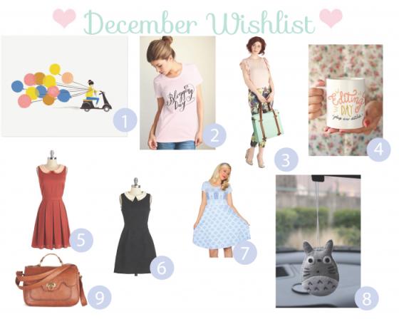 December Wish List
