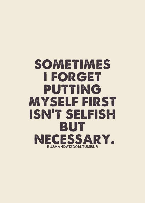 022215 putting yourself first isn't selfish