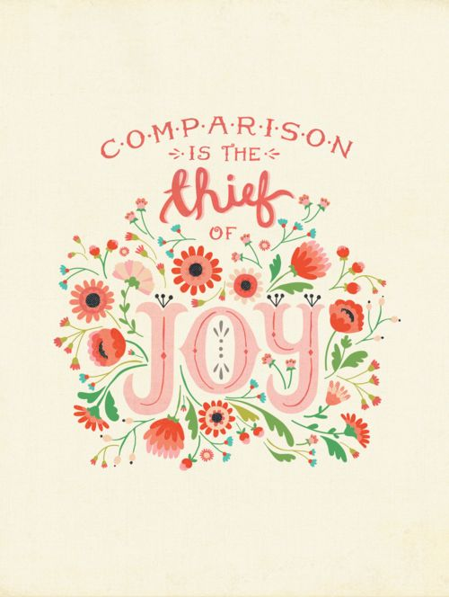 050315 comparison is the thief of joy