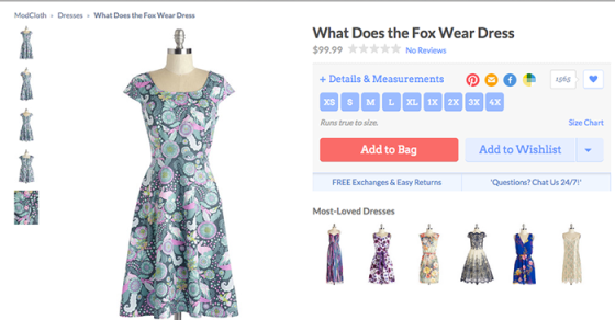 the dress I named